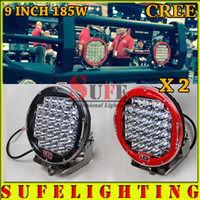 Wholesale 2PCS inch W CREE LED Work Light Offroad Driving Light Truck Tractor X4 WD LED Fog Light CAR HeadLight W