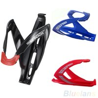 Wholesale New Cycling Bike Bicycle Sports Glass Fiber Drink Water Bottle Holder Cages Rack Accessories PX