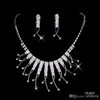 anchor lock - 2017 Cheap New Styles Statement Necklaces Pearl Sets Bridesmaids Jewelry Lady Women s Prom Party Fashion Jewelry Earrings