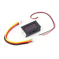 Wholesale 1pcs DC V A Dual Red LED Digital Volt meter Ammeter Voltage AMP Power ES9P Brand New