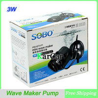 Wholesale SOBO W L H Degree Mini Wave Maker Pump For Aquarium Coral Reef Marine Fish Tank