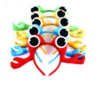 Wholesale 3D Crab Headband Zoo Jungle Animal Costume for Girls Boys Kids Children