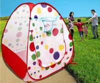 Tiendas de campaña childern niños que juegan IndoorOutdoor Pop Up Kids Play House Kids Game tienda del juguete de múltiples funciones carpa infantil independiente