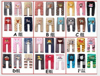 Wholesale 0 years old newborn PP pants Cartoon baby striped pants Cotton tights Leggings outlets