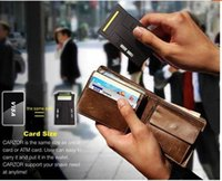 Wholesale 10 a new arrival Card Shaver Mini Card Shaver Pocket Razor Credit Card Size CARZOR pocket Razor