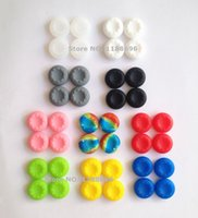 Cheap 1000PCS Wholesale Price Rubber Silicone Thumbstick Thumb Sticker Cover Case Joystick Grips For PlayStation 4 PS4 Controller