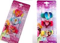 Wholesale Frozen elsa anna Princess ring Hairbands Children s hair accessories Multi color