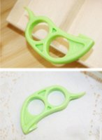 Wholesale 30pcs Hot pc Orange Peelers Slicer Lemon Lime Tangerine Grapefruit Kitchen Tool Gadget Drop LR581