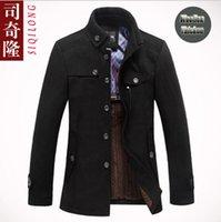 brand winter jacket for men - 2014 High Quatity Brand Jacket for Men Coats Casual Mens Thicken Woolen Fashion Jackets Winter Coat Men s Jacket Men Overcoat