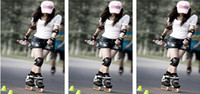 adult skate pads - Wrist Knee Protector Set Adults Skating Knee Pads Elbow Protection in1 Pads Set Sports Safety H063