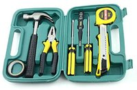 Wholesale Pieces set Portablet Car Repair Emergency Kit Pack Hand Tool Sets LC8009A
