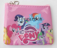 Wholesale My Little Pony Children Kids Boy s Girl s Cartoon Coin wallets purses Hot New style