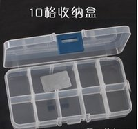 Wholesale A04 transparent cosmetic jewelry box kit format removable storage box essential household