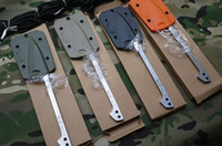 Wholesale EDC Outdoor Fishing Harpoon to Flake Tools Fixed Blade Knife Kydex Sheath Colors for Your Choice