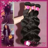 Wholesale Affordable Virgin Human Hair Brazilian Body Wave Hair Weave Peruvian Malaysian Indian Remy Cambodian hair Weft or Bundles