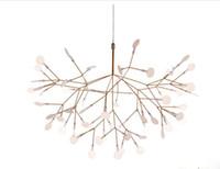 Wholesale 2016 new arrivals Moooi Heracleum II Firefly Pendant Light By Bertjan Pot Modern Nordic Modern Creative Snowflake Tree Leaf Pendant Lamp