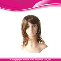 Cheap short curly hair wig Best fashion design wigs for women