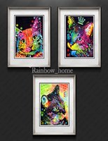 Cheap More Panel Painting Best Digital printing Abstract Animal Painting