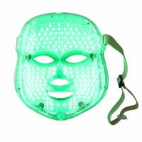 Wholesale Golden led facial mask with photon colors for skin rejuvenation acne removal face mask