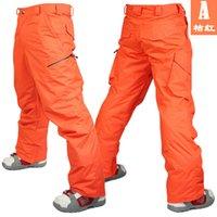 Wholesale COLOR original NEW men ski pants winter snowboard man cotton thick trousers waterproof breathable