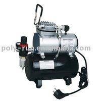 Venda quente !! Frete grátis! AC Mini Compressor de ar para airbrush (DH189)