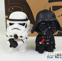 Wholesale 2015 New Star Wars Figures toy SETS Black Knight Darth Vader Stormtrooper PVC Action Figures DIY Educational TOYS