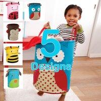 Wholesale Skp Foldable Kids Storage Bins Zoo Pop up Hamper Jars Organizer Doomagic Home Storage Toys Storage Bag for Children