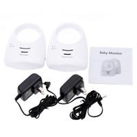 Wholesale 2 G Audio Digital Baby Sleep Monitor Housemaid Ways Wireless Sensitive m Transmission Motive Detector Radio Nanny for Kids