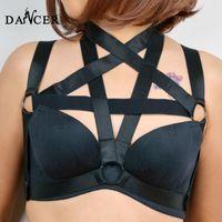 Cheap sexy garter Best gothic cage underwear