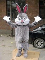 Wholesale 2015 New Easter Bunny Rabbit Adult Costume Mascot bhnj8