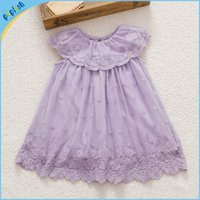 baby girl fairy - 2016 Summer season kids wear princess lace waist fairy beautiful girl baby dress brithday dress