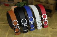 Wholesale 2015 New Luxury Korea Style Imitation Leather Belt For Men and women Black Alloy Buckle Belts Brand Designer colors