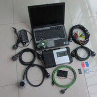 Wholesale sd connect c5 for mb star diagnosis c5 with software installed in d630 laptop support Bz cars and trucks