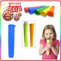 Cheap 2015 Silicone Push Up Ice Cream Jelly Lolly Pop Maker Popsicle Mould Mold