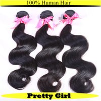 Cheap Hot Beauty 6A Grade Brazilian Body Wave Virgin hair Extension Malaysian Peruvian Virgin hair weave Wholesale Price USPS-Abroad Delivery
