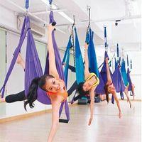 Wholesale High Strength Yoga Hammock Newest Decompression Anti gravity Yoga Hamac Belts Yoga Gym Swing Hanging