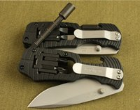 best american tools - Best Authentic American g Shaw Multi function Tool Knife Auto Rescue Tools