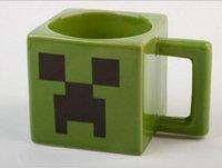 Wholesale Minecraft Creeper JJ coffee cup green water tumblerful retail box WD1793