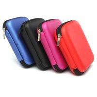 Wholesale Four Colors EVA Nylon Carry Case Cover Pouch Bag For inch USB External Hard Disk Drive HDD PC Laptop x10 x4cm