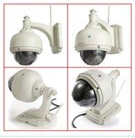 Wholesale Sricam PTZ CMOS P2P M JPEG Waterproof ip wireless outdoor camera surveillance wifi security Dome Camera IR CUT night vision m
