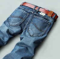 Wholesale New coming Thick autumn winter jeans high quality Nostalgic blue cotton brand men s jeans New fashion leisure casual