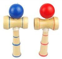 Wholesale Intelligence toys Kendama Ball Japanese Traditional Wood Game Toy Education Gift Hot selling