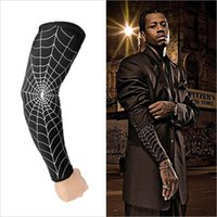 basketball equipment - Cobwebs armband basketball equipment non slip sleeve longer extension arm guards collision sun pro sports personality elbow protectors
