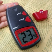 Wholesale Moisture Meter Wood Bamboo Pins Digital LCD Tester MD G Timber Damp Detector A3