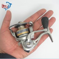 Wholesale Portable Mini Fishing Reel BB g Glass Fiber Spinning Reel Fly Ice Fishing Metal Spoon Small Spinning Fishing Reel