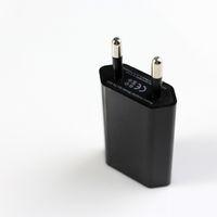 Wholesale 100pcs EU Plug Power Adapter V mAh USB Power Travel Adapter AC Wall Charger
