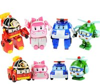 best car tv - NEW STYLE Set Robocar Poli Toy Korea Robot Car Transformation baby Toys Best christmas Gifs For Kids toys