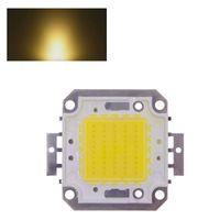 led high power - 50W high power COB epistar chip mA V LM W LED Integrated High power LED Beads White Warm white for led flood light