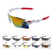 al por mayor sunglasses bike-2015 Nueva actualización bicicleta de ciclo Bike Deportes Gafas de moda las gafas de sol de los hombres / mujeres Montar Gafas Pesca Colores