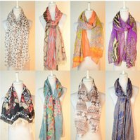 Wholesale 2015 new autumn and winter high quality print scarf fashion all match soft and comfortable more color to choose to accept mixed